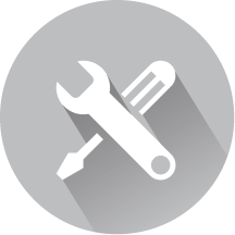 Self service bi icon dark