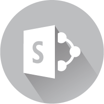 Sharepoint dashboards icon dark